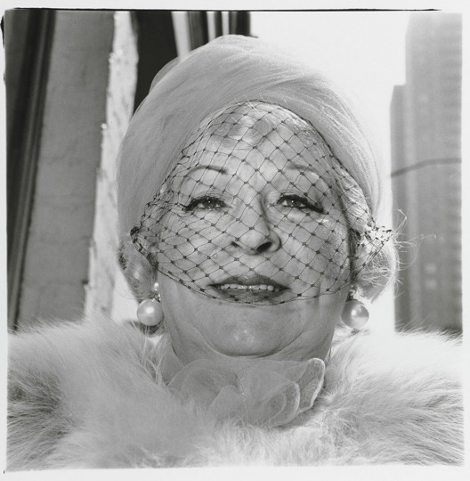 Woman with a Veil on Fifth Avenue, N.Y.C. 1968. (Diane Arbus/The Baltimore Museum of Art: Gift of Elinor B. Cahn, Baltimore)