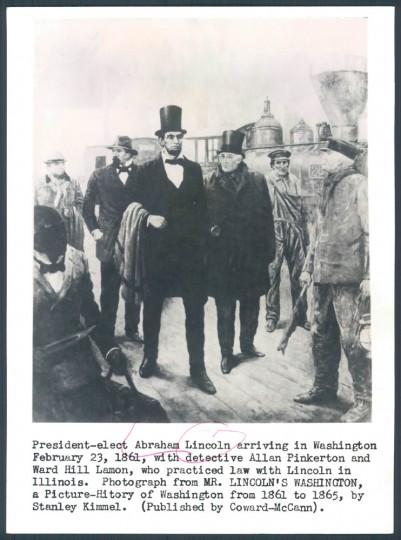 Lincoln in Washington.