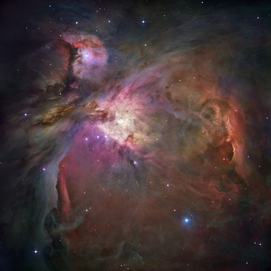 This Hubble image shows the Orion Nebula and the process of star formation (NASA, ESA, M. Robberto - Space Telescope Science Institute/ESA via AP)