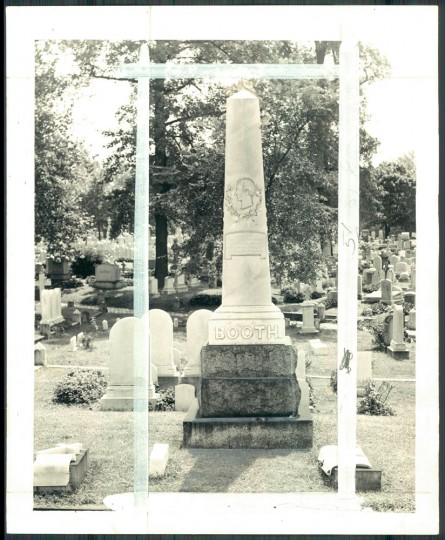 The Booth family grave at Greenmount cemetery.