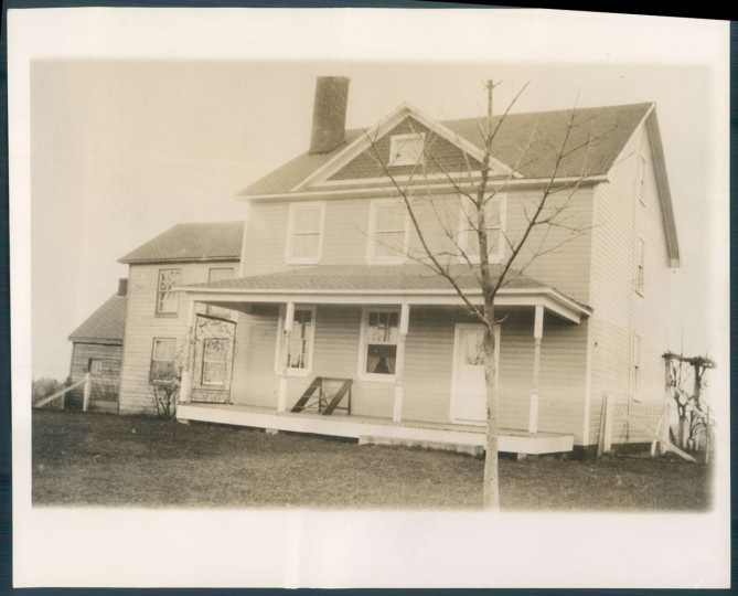 House in Charles Co. where John Wilkes Booth got his leg set after shooting Abraham Lincoln.