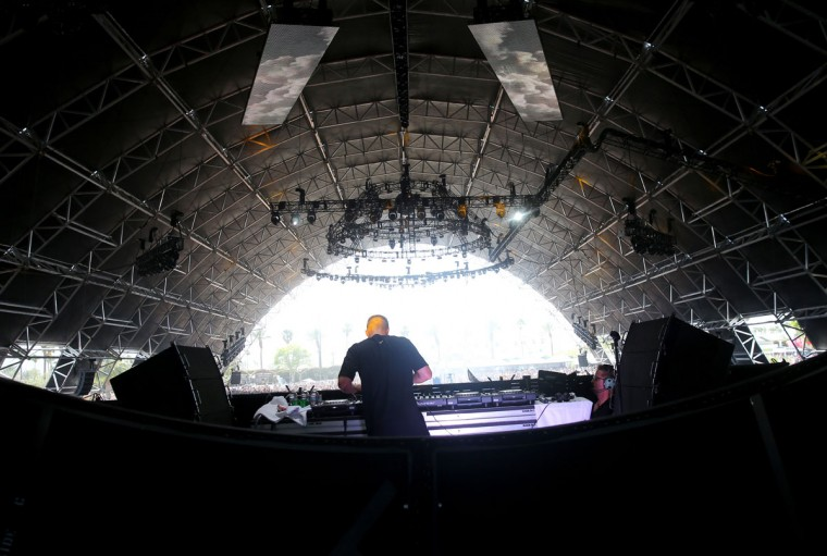 DJ Emoh Instead of What So Not performs onstage during day 3 of the 2015 Coachella Valley Music & Arts Festival (Weekend 1) at the Empire Polo Club on April 12, 2015 in Indio, California. (Photo by Mark Davis/Getty Images for Coachella)
