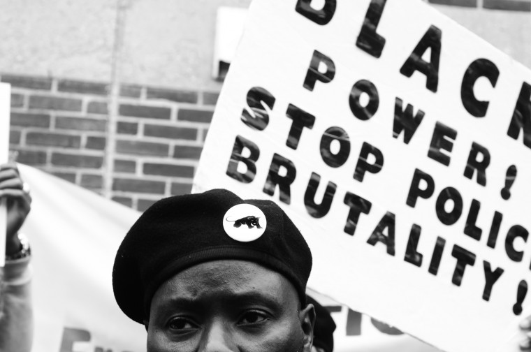 April 25: A massive march is lead from the Freddie Gray vigil site to downtown. See more photos from the day here.