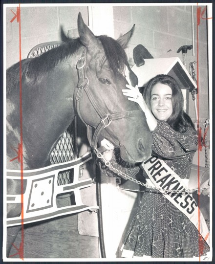 Janet Davenport Phillips, Miss Preakness 1970 (Baltimore Sun)