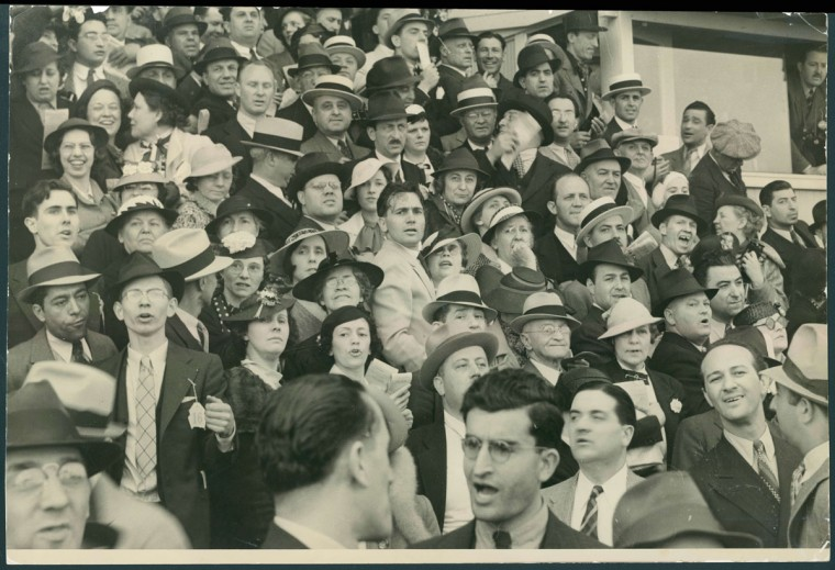 The crowd at Preakness in 1936. (Baltimore Sun archives)