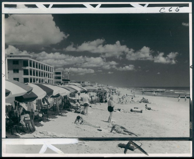 For many, summer vacation means a visit to Ocean City. June 9, 1963.