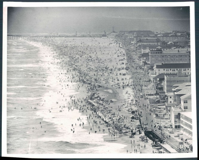 Ocean City from the air, Oct. 8, 1965.