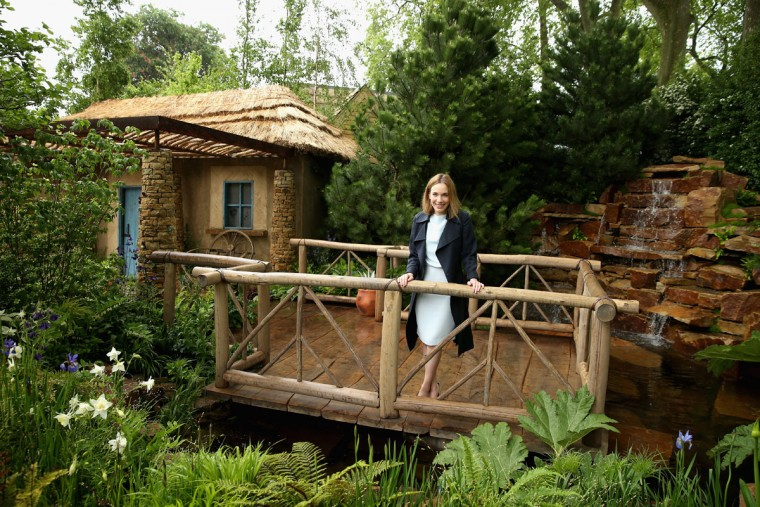 Actress and Sentebale Ambassador Laura Main visits the Sentebale 'Hope In Vunerability' Garden during the annual Chelsea Flower show at Royal Hospital Chelsea on May 18, 2015 in London, England.The Sentebale - Hope In Vulnerability Garden at RHS Chelsea Flower Show was designed by Matt Keightley and is inspired by the Mamohato Children's Centre in Lesotho. The Children's Centre is due to open later this year in Lesotho and will provide support to children living wth HIV (Photo by Chris Jackson/Getty Images for Sentebale)