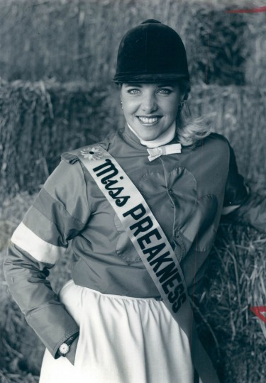 Miss Preakness 1983 - Judith O'Rourke. The 21-year-old Towson State student has been around horses all of her life. Her father, the late William W. O'Rourke, was a breeder and co-owner of O.K. Stables. (Baltimore Sun archives)