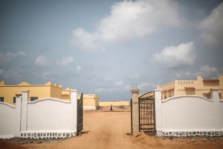 A Yemeni refugee walks at an orphanage that has been turned into a center for Yemeni refugees, in Obock, northern Djibouti. The UNHCR says a total of 5,000 Yemeni refugees have made it to Djibouti, including 3,000 in the capital, Djibouti city, and 1,000 in Obock, 300 kilometers (187 miles) to the north making it currently the biggest Yemeni refugee population. (AP Photo/Mosa'ab Elshamy)