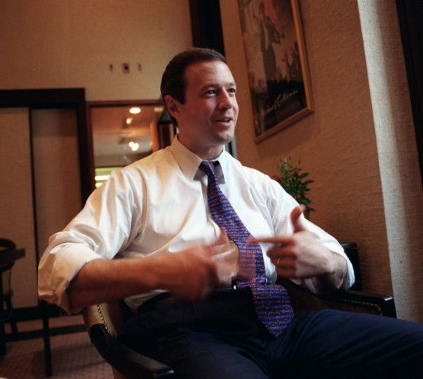 Mayor Martin O'Malley during interview in 2000. Jed Kirschbaum, staff