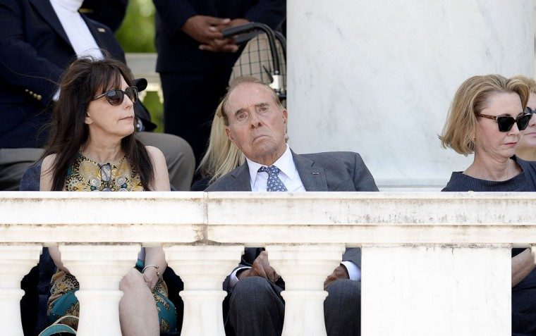 Former Senate Majority Leader Bob Dole attends a Memorial Day event at Arlington National Cemetery on Monday, May 25, 2015, in Arlington, Va. (Olivier Douliery/Abaca Press/TNS)