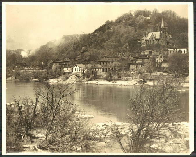 Harpers Ferry, 1925. (Baltimore Sun archives)