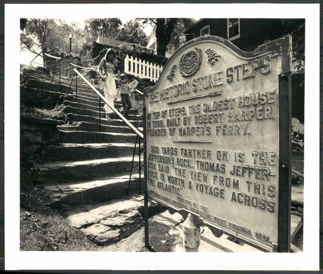 Harpers Ferry, 1974. (Baltimore Sun archives)