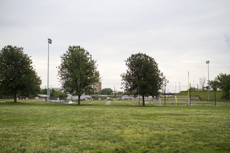 Latrobe Park in Locust Point. (Kalani Gordon, Baltimore Sun, June 2015)