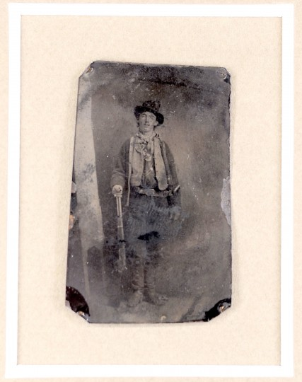 July 14, 1881: We're heading way back in time with this one to the Wild West. Billy the Kid, aka William Bonney, seen here in the only authenticated photograph of him, was shot dead on July 14, 1881 by Sheriff Pat Garrett. (UNITED STATES - Tags: ENTERTAINMENT SOCIETY)
