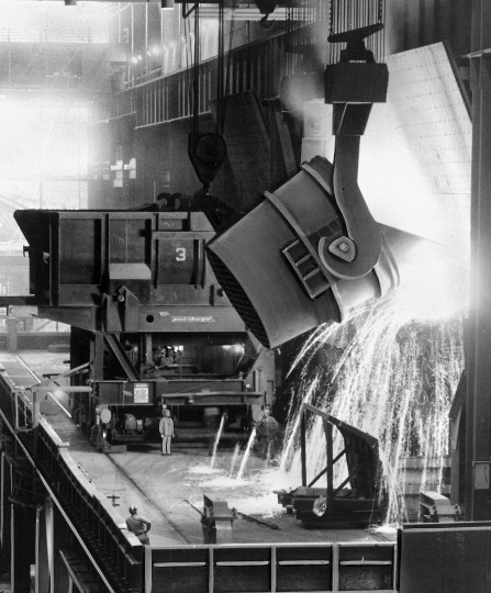 July 15, 1959: The United Steelworkers of America labor union went on strike on July 15, 1959, which lasted 116 days and led to major changes in the industry. It marked the beginning of major steel imports from other countries. This photo is from the Bethlehem Steel Corporations mills at Sparrows Point. (Baltimore Sun file photo)