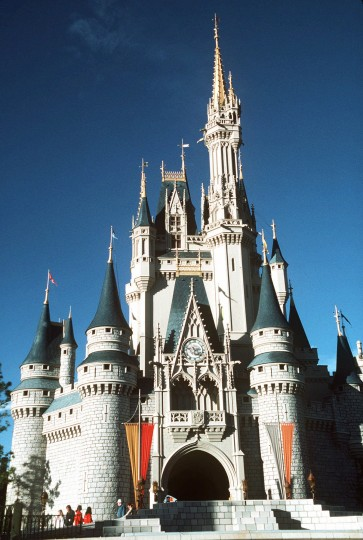 July 17, 1955: Disneyland, the first of several such theme parks around the world, is dedicated and opened for the first time on July 17, 1955 in Anaheim, Calif. (AP Photo/Rick Sammon)