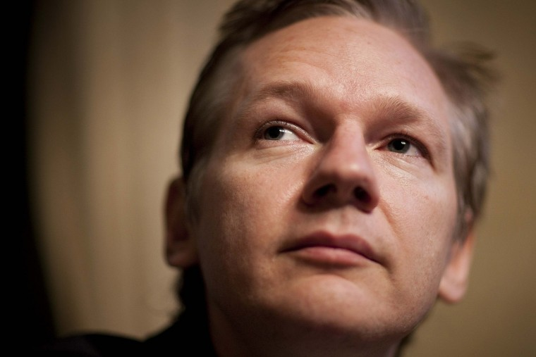 July 25, 2010: More than 91,000 documents about the Afghan War are released by the organization WikiLeaks, headed by Australian activist Julian Assange. (REUTERS/Valentin Flauraud/Files)