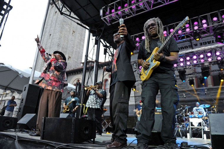 George Clinton and Parliament Funkadelic performs at Artscape. (Special to The Sun / Colby Ware)