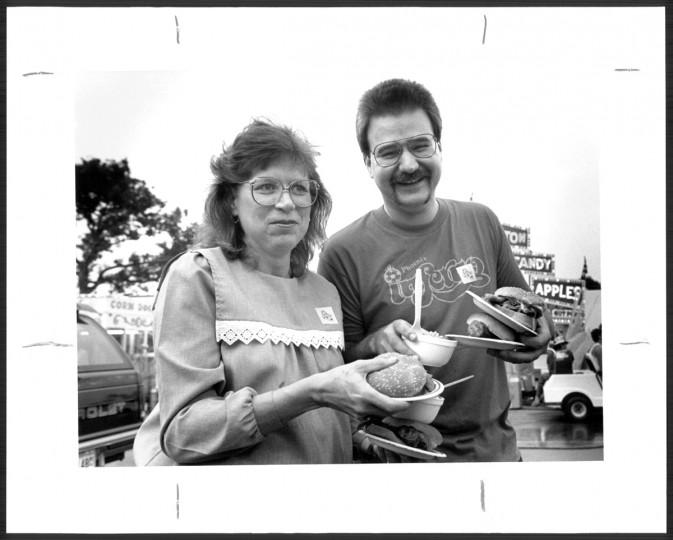 September 6, 1987, Marlene Duff and Tim Duff