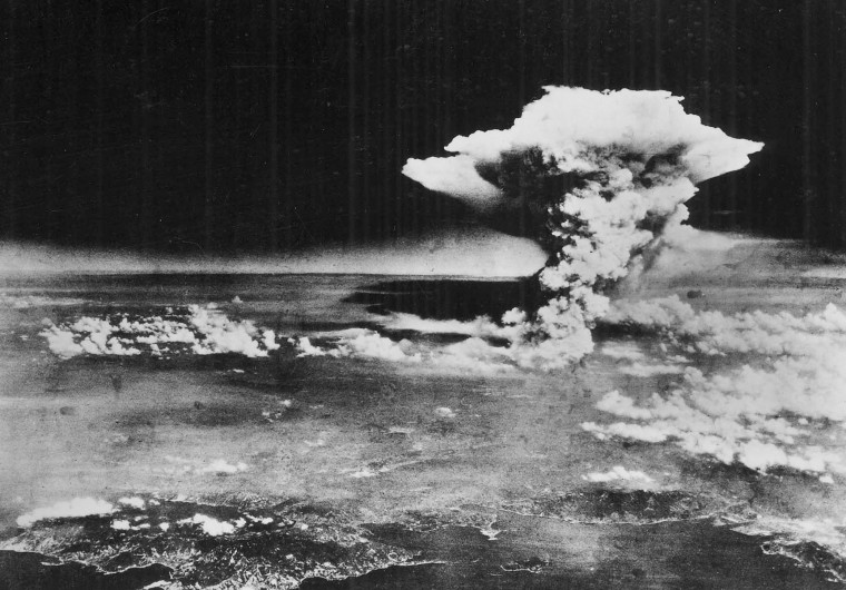 Aug. 6, 1945: The United States drops the first atomic bomb on the city of HIroshima, Japan. (AP Photo/U.S. Army via Hiroshima Peace Memorial Museum, HO)