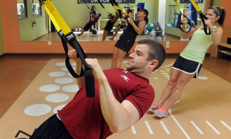 Doug Bopst is a personal trainer and nutrition coach at MAC Express Hunt Valley. Learn more about him. (Barbara Haddock Taylor/Baltimore Sun)