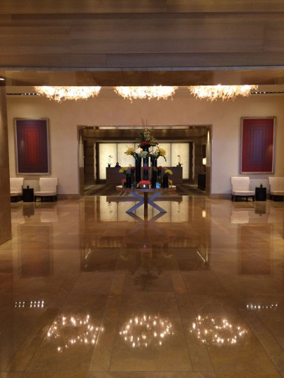 The Four Seasons Lobby is always stunning and coming here is a nice treat.