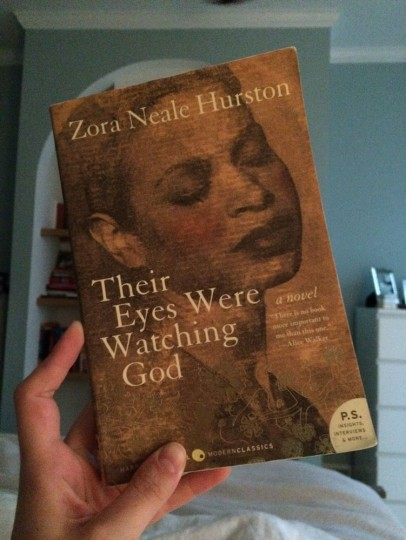 "Three friends from college -- all named Kath(arine)(erine)(ryn) -- started an online book club of sorts where we read the same book and write reviews. September's pick is ""Their Eyes Were Watching God"" by Zora Neale Hurston."