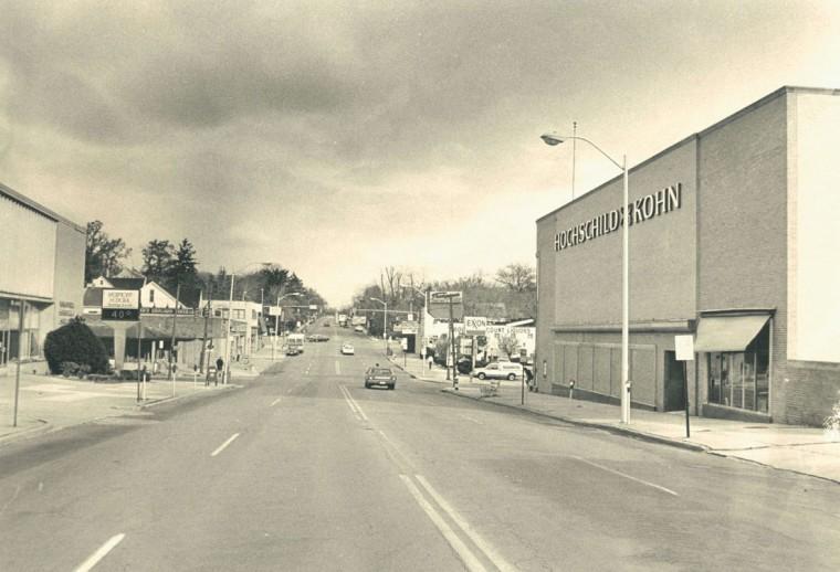 Hochschild Kohn on Belvedere Ave in 1983. (Baltimore Sun archives)