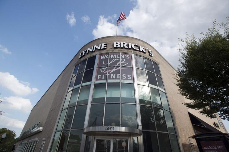 Women's-only health club, Lynn Brick's is housed in 5911 York Road, which originally was the Hochschild Kohn department store. (Emma Patti Harris/Baltimore Sun)
