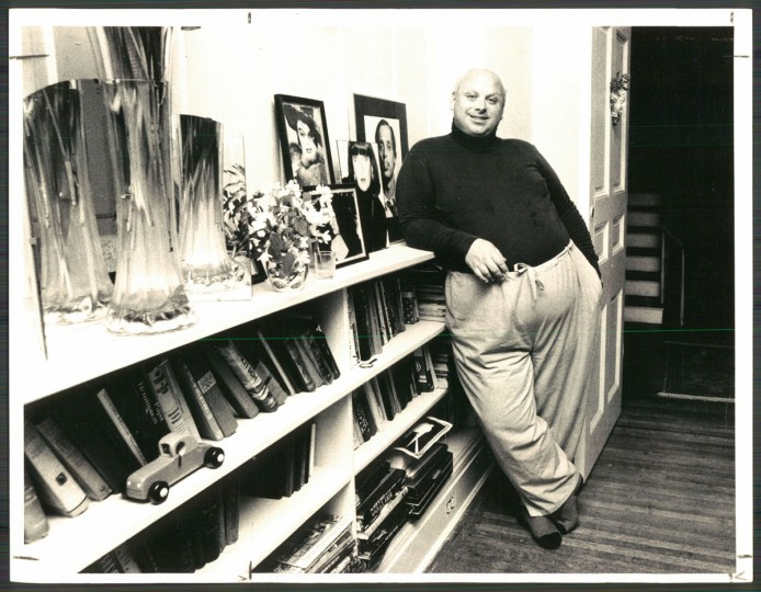 Divine without makeup in 1981. (Baltimore Sun archives)