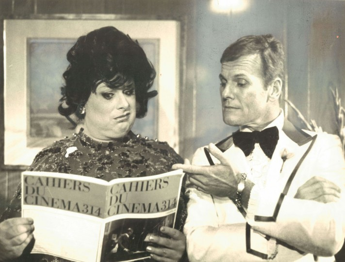 "Divine and Tab Hunter in John Waters' ""Polyester"" (New Line Cinema Productions)"