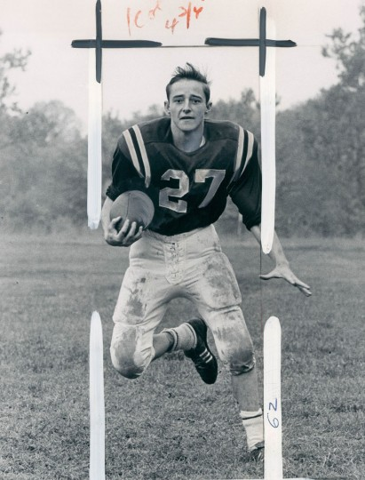 Jim Bushby of Gilman High School, (Baltimore Sun archives, 1966)