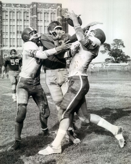 Mervo versus Patterson at City College. (Baltimore Sun archives, 1959)