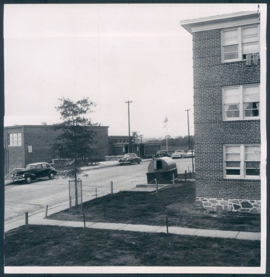 A view of Cherry Hill on Nov. 15, 1954. (Baltimore Sun photo)
