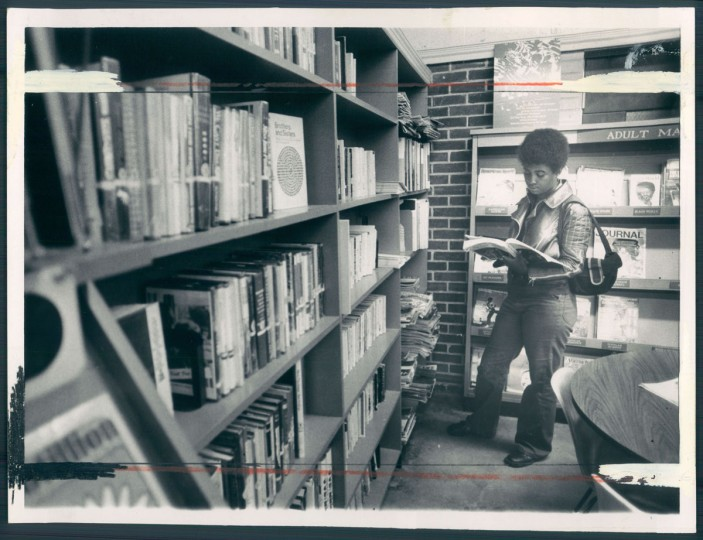 A view of the Cherry Hill branch of the Enoch Pratt library on July 5, 1973. (Baltimore Sun photo by Weyman Swagger)