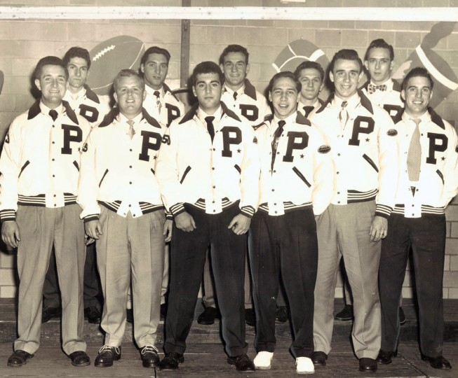 Patterson Park High School football team. (Baltimore Sun, archives, 1951)
