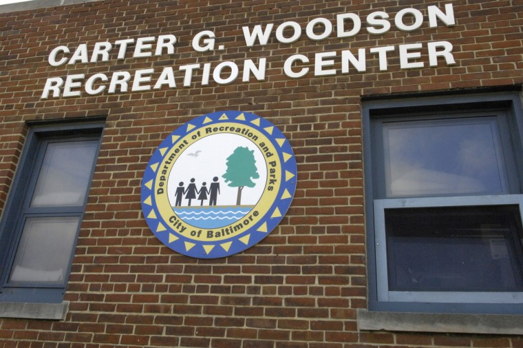 A view of the Carter G. Woodson Recreation Center in Cherry Hill on Nov. 27, 2007. (Baltimore Sun photo by Jed Kirschbaum)