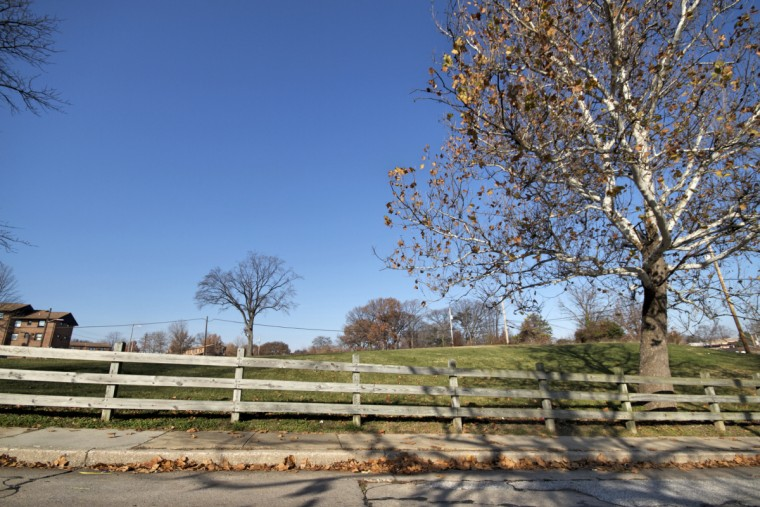 Green space in Cherry Hill. (Kalani Gordon/Baltimore Sun)