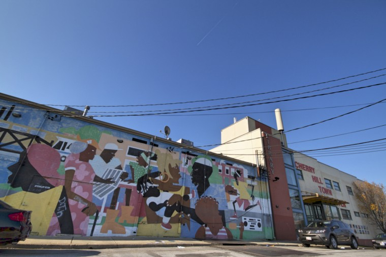 Cherry Hill Town Center, Cherry Hill, Baltimore. (Kalani Gordon/Baltimore Sun)
