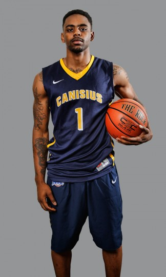 HONORABLE MENTION Name: Malcolm McMillan College: Canisius Position: Guard Year: Grad student High school: John Carroll Hometown: Baltimore 2013-14 stats: 10.8 points, 3.5 rebounds, 3.2 assists in 2013-14 at Central Connecticut State McMillan was injured during his senior year at Central Connecticut State, redshirted, graduated and transferred to Canisius, where he's expected to start and lead a Griffins squad that went 18-15 last season. Photo courtesy of Canisius athletics