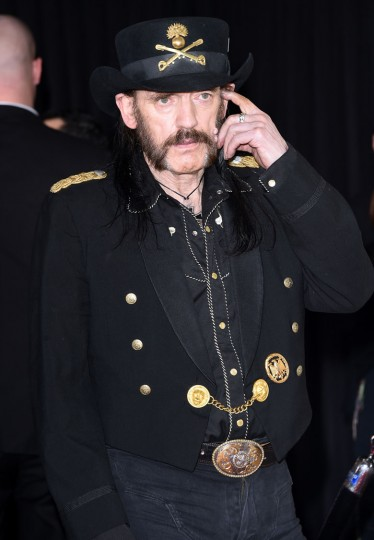 Musician Lemmy of Motorhead attends The 57th Annual GRAMMY Awards at the STAPLES Center on February 8, 2015 in Los Angeles, California. (Jason Merritt/Getty Images)