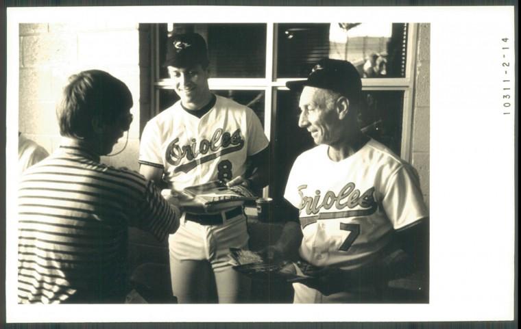 Cal Ripken Sr. is pictured on Orioles Fan Appreciation Day. (Baltimore Sun photo)