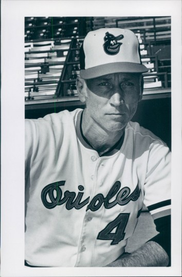 Cal Ripken Sr. poses for a picture. (Baltimore Sun photo by Irving Phillips)