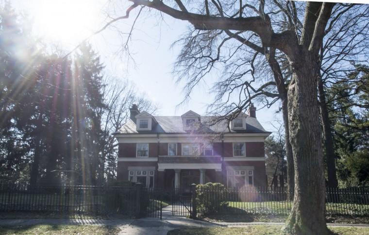 104 Ridgewood Road in Roland Park. (Emma Patti Harris/Baltimore Sun)