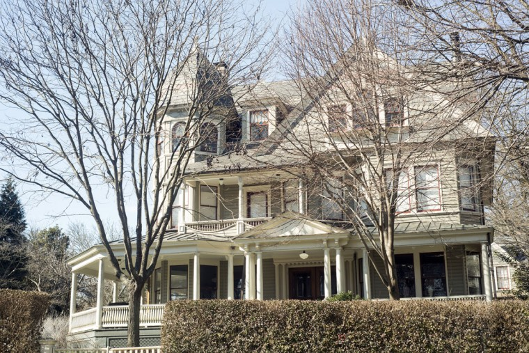 The McCormick family home at 402 Hawthorn Road. (Emma Patti Harris/Baltimore Sun)