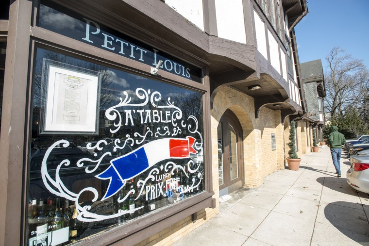 French restaurant Petit Louis is a part of Roland Park's only commercial district. (Emma Patti Harris/Baltimore Sun)