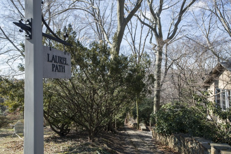 Laurel Path, one of the many neighborhood trails in Roland Park. (Emma Patti Harris/Baltimore Sun)