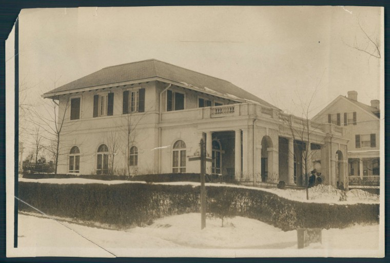A view of the Women's Club of Roland Park. (Baltimore Sun photo, undated)